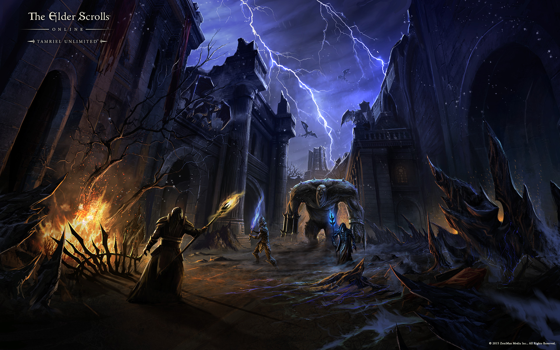 The Elder Scrolls Online Wallpaper The Elder Scrolls Fan Site