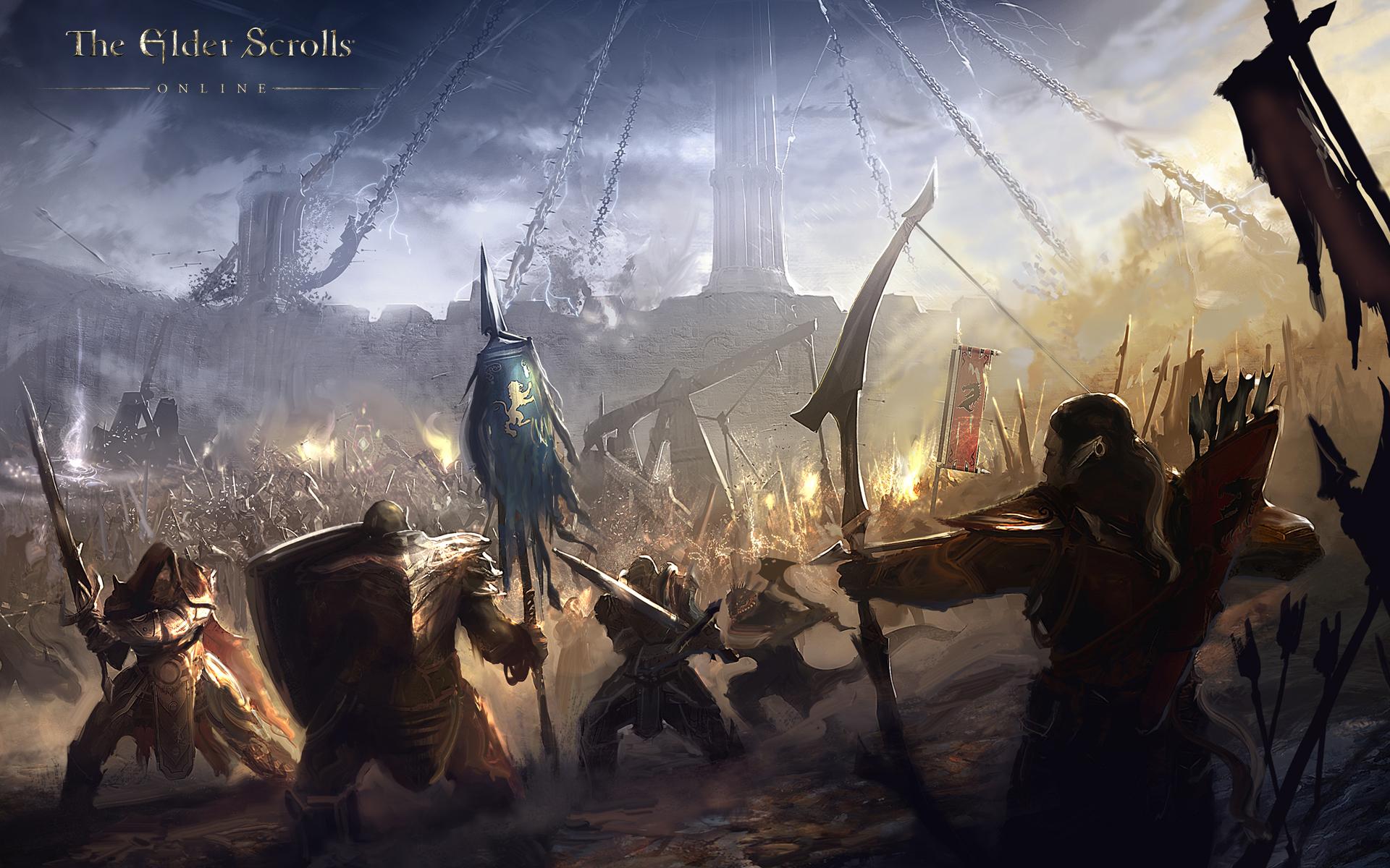 Обои The Elder Scrolls Online: Битва альянсов