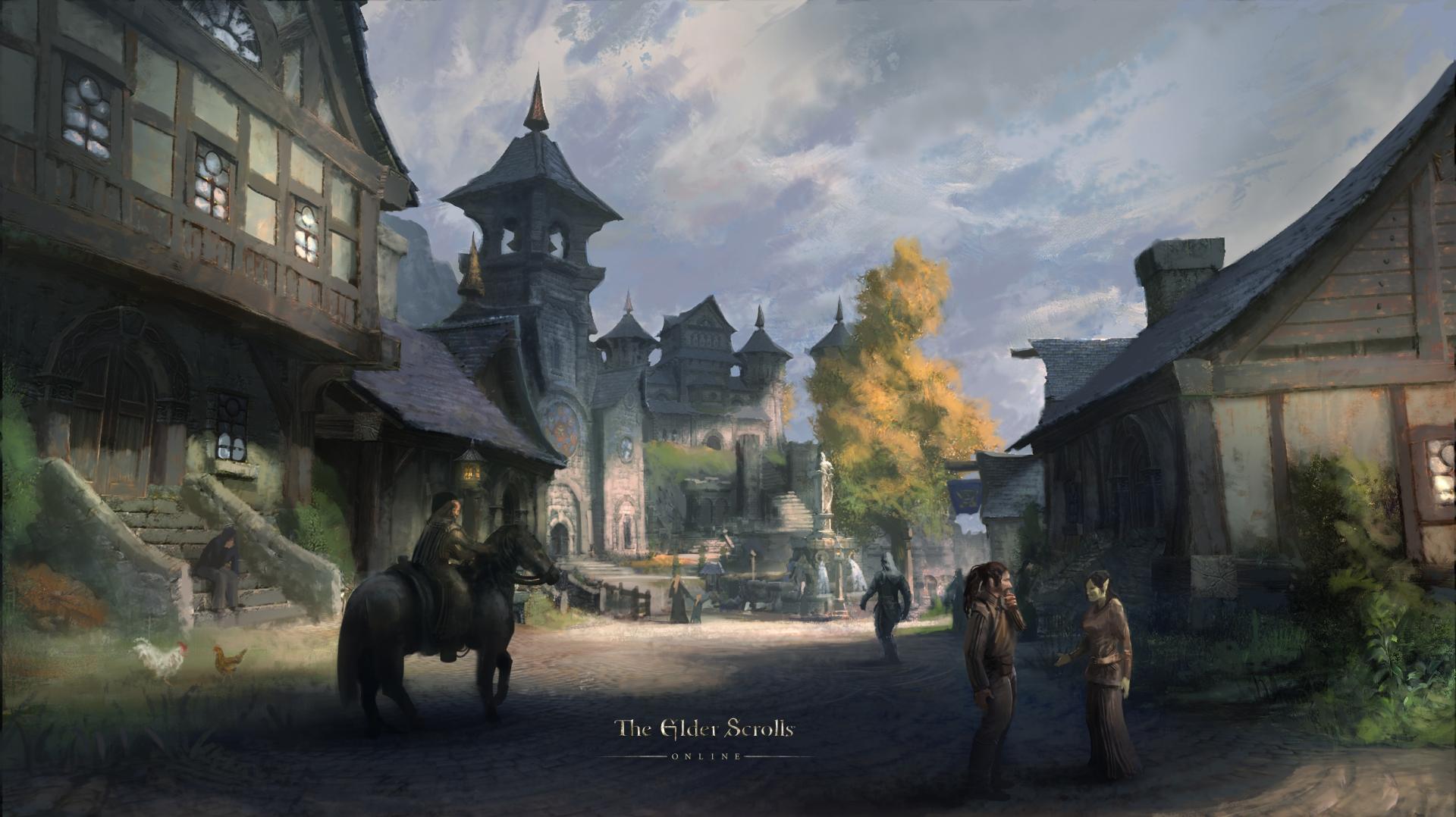 Обои The Elder Scrolls Online: Даггерфолл