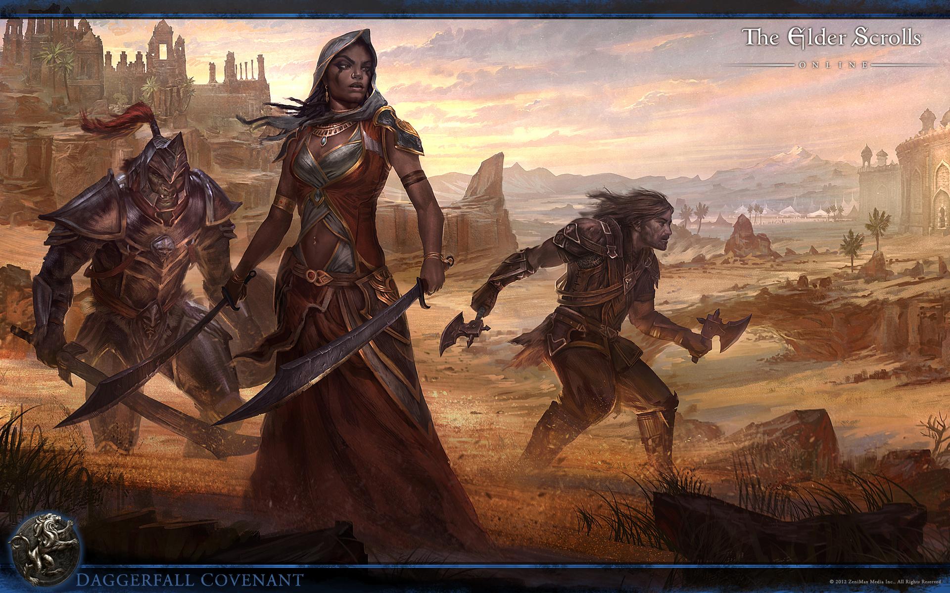 Обои The Elder Scrolls Online: Ковенант Даггерфолла