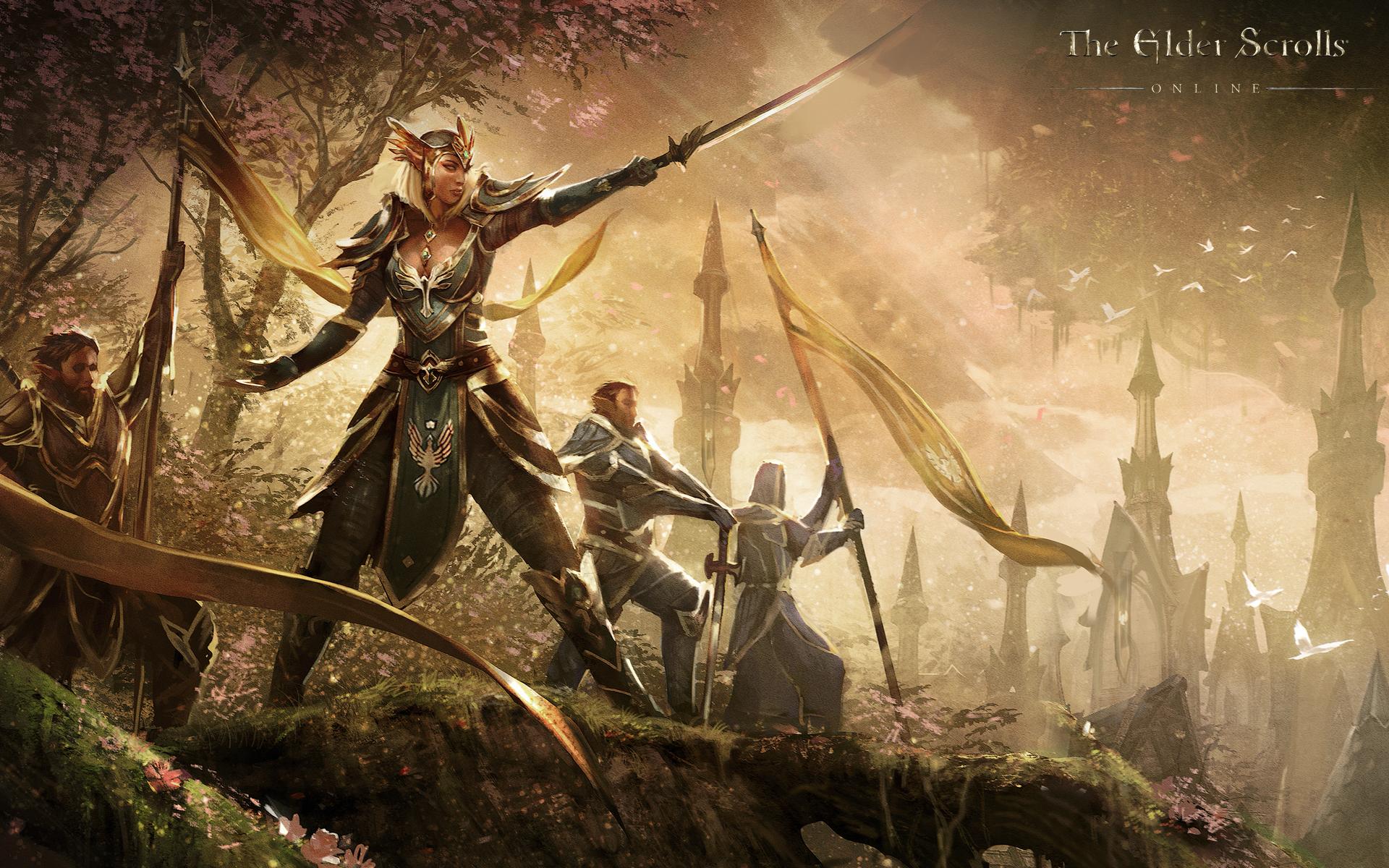 Обои The Elder Scrolls Online: Королева Аерин