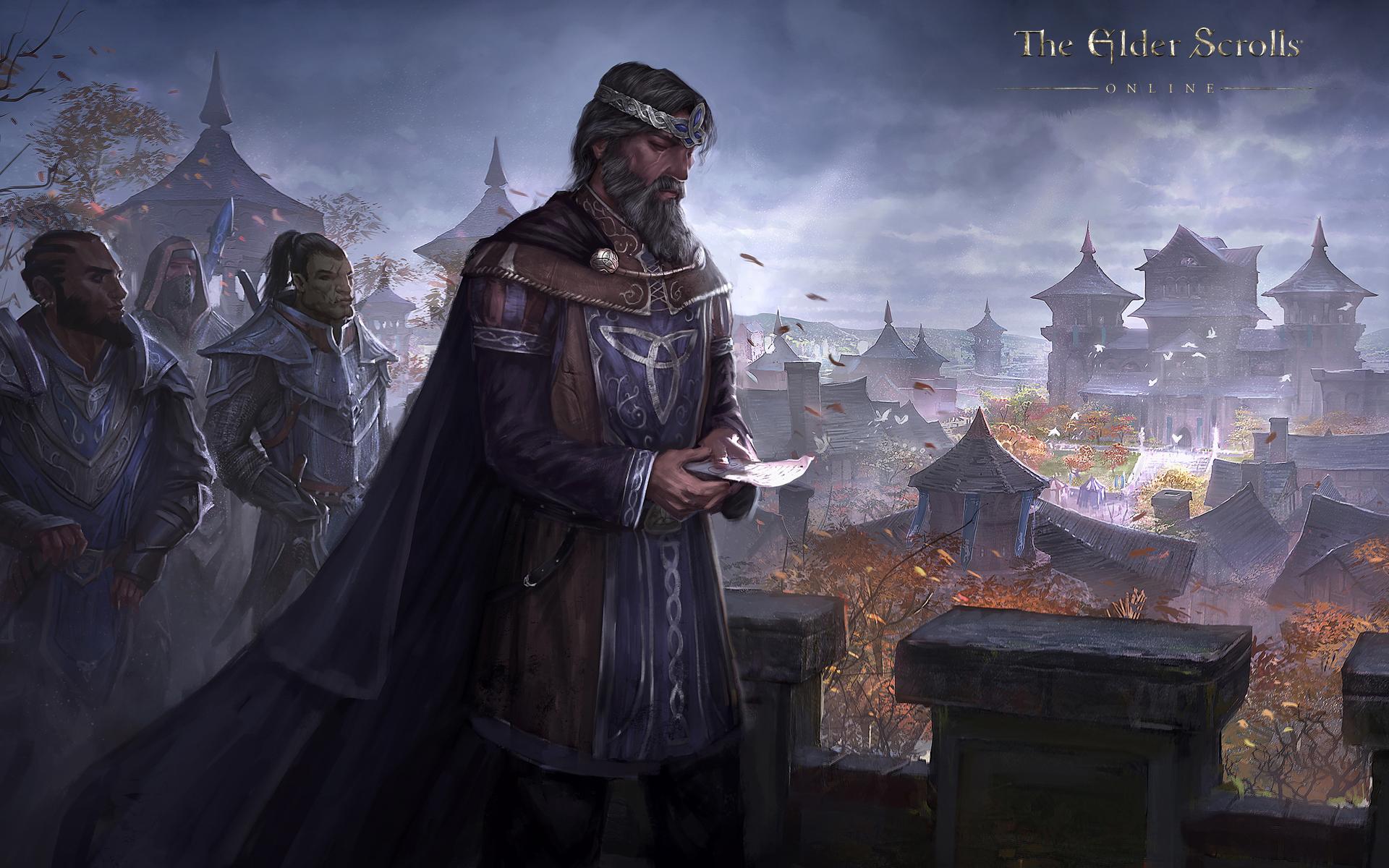 Обои The Elder Scrolls Online: Король Эмерик