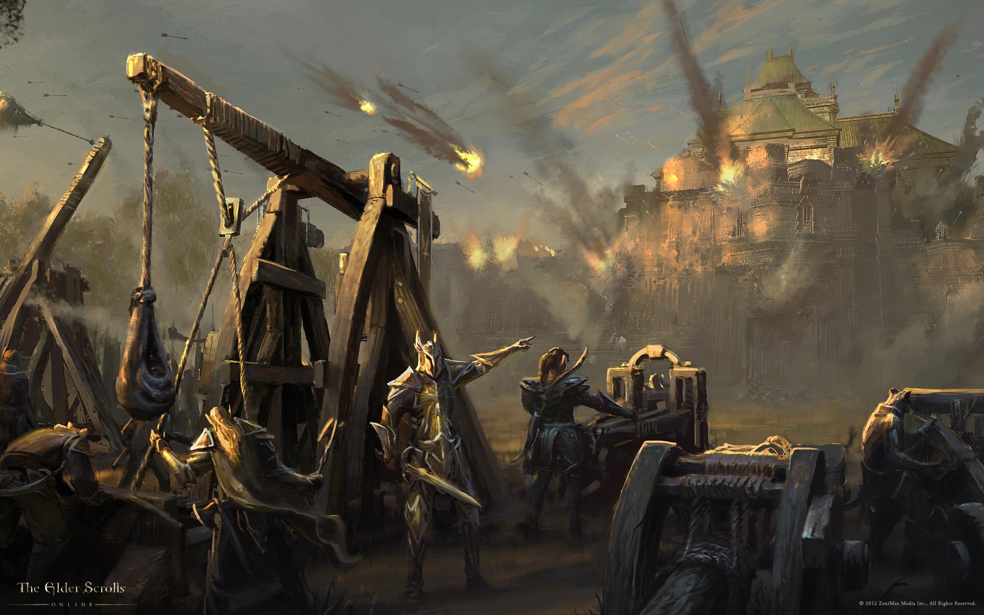 Обои The Elder Scrolls Online: Осада