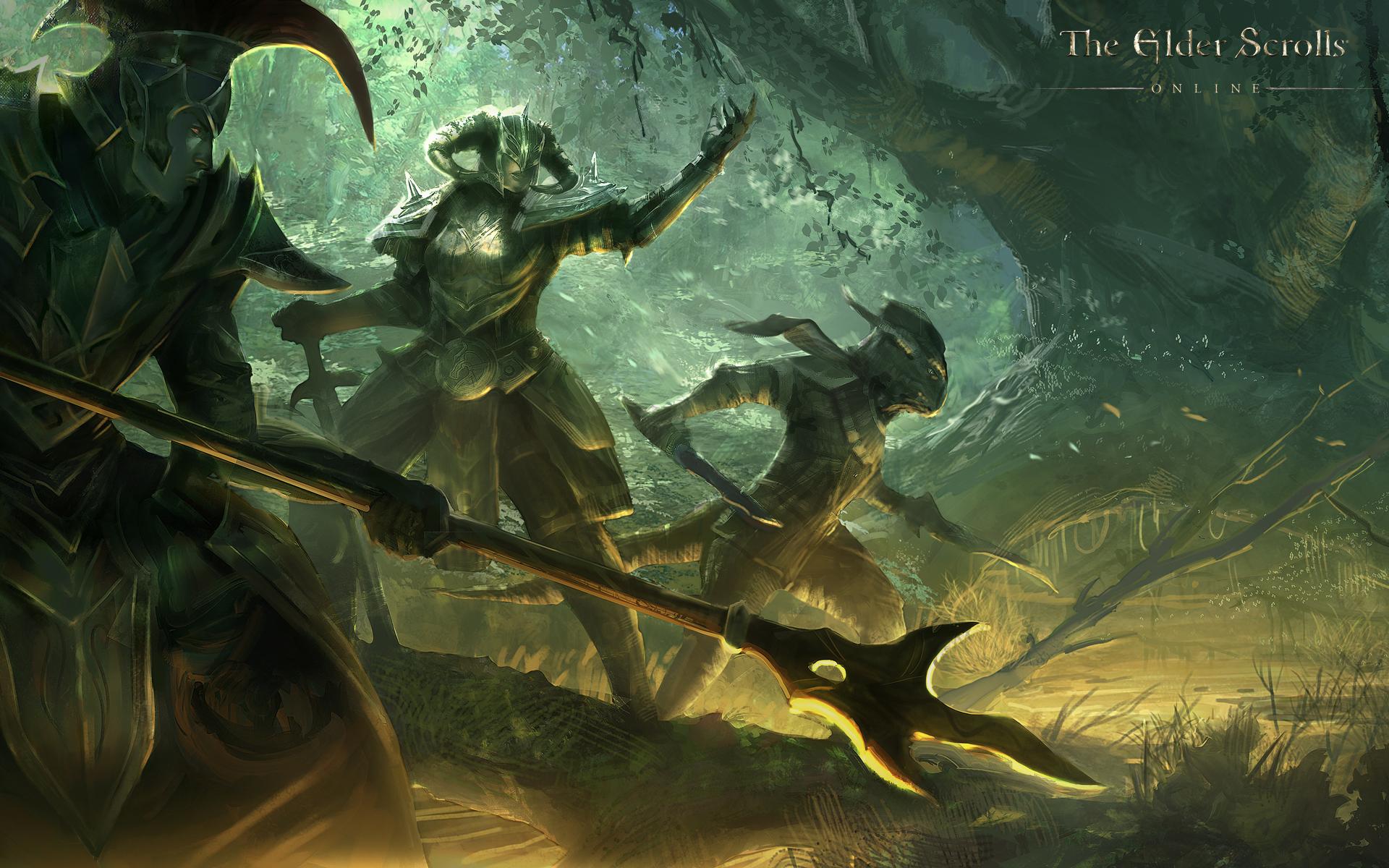 Обои The Elder Scrolls Online: Эбенгардский Пакт