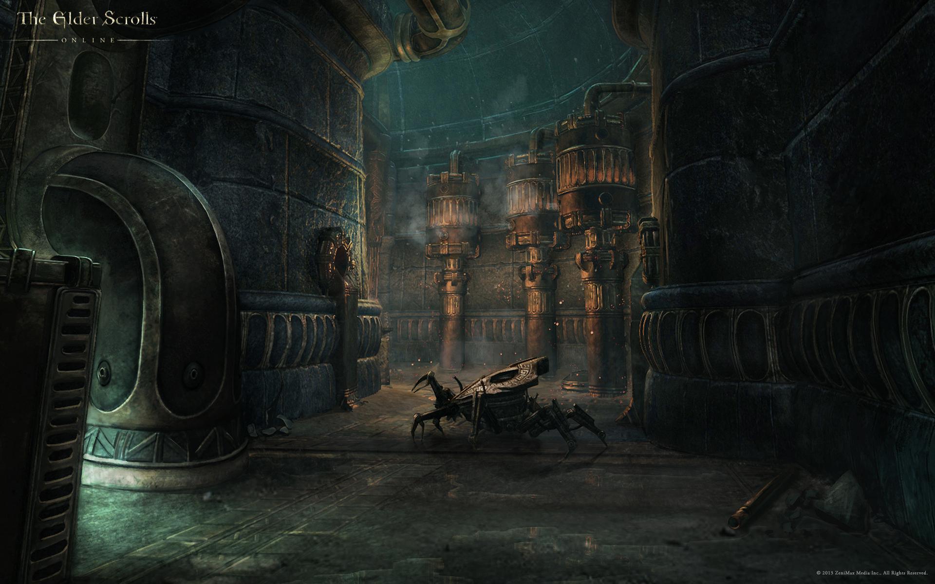 Обои The Elder Scrolls Online: Руины Двемеров