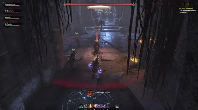 Первый взгляд на подземелья в The Elder Scrolls Online (Видео)