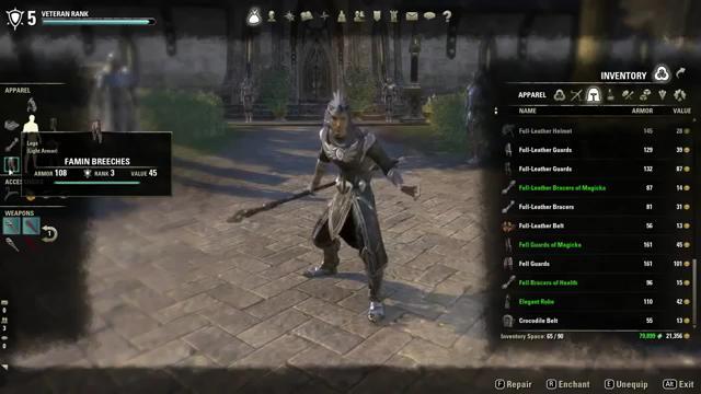 The Elder Scrolls Online Перекачка характеристик (Видео)