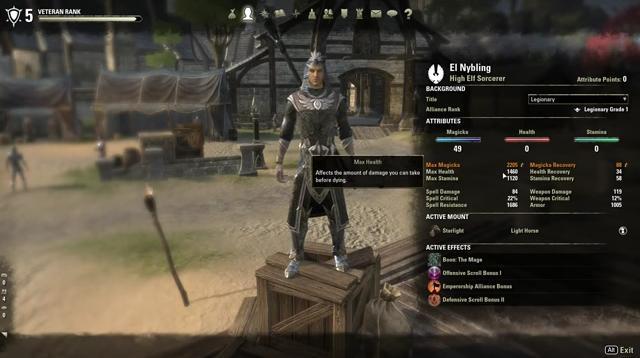 The Elder Scrolls Online Перекачка характеристик Часть 2 (Видео)