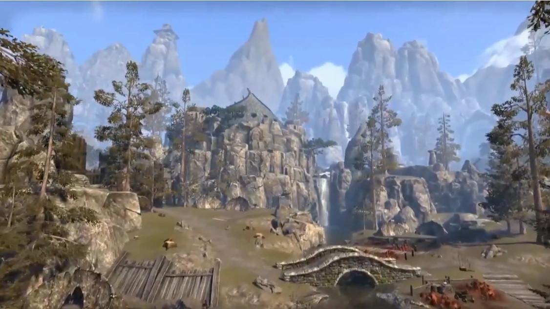 Будущее The Elder Scrolls Online - Третья зона Краглорна (Видео)