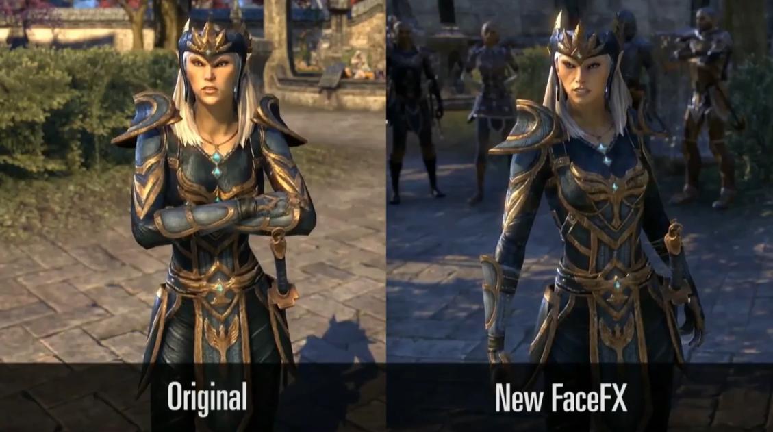 Будущее The Elder Scrolls Online - Новая лицевая анимация (Видео)