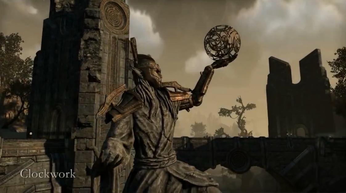 The Elder Scrolls Online - Заводной город (Видео)