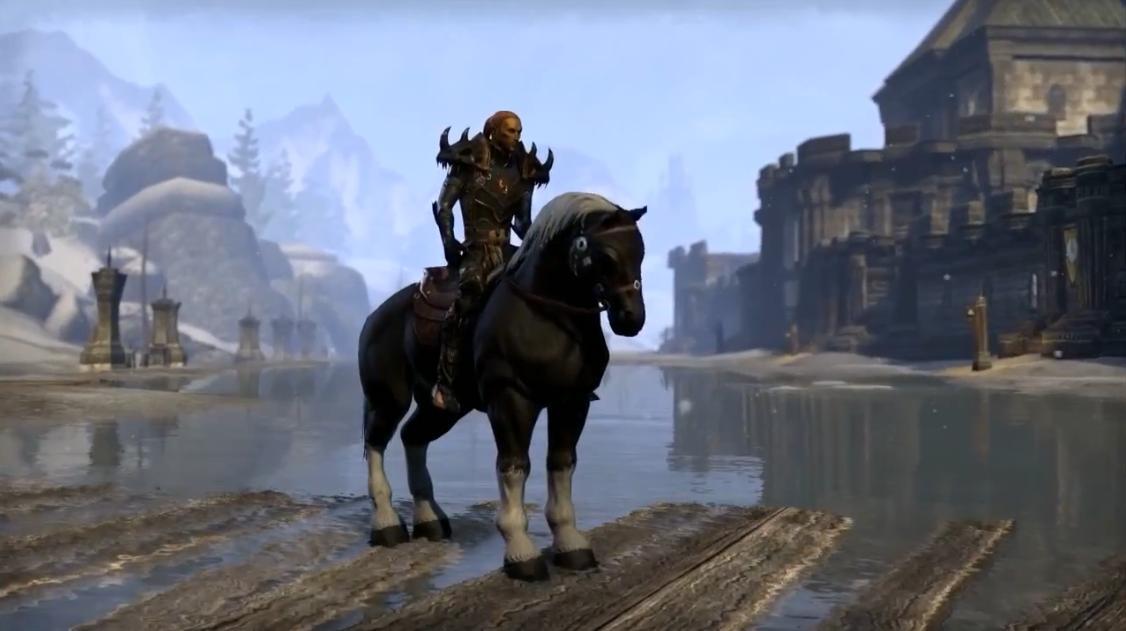 The Elder Scrolls Online - Новые ездовые животные, питомцы и одежда (Видео)