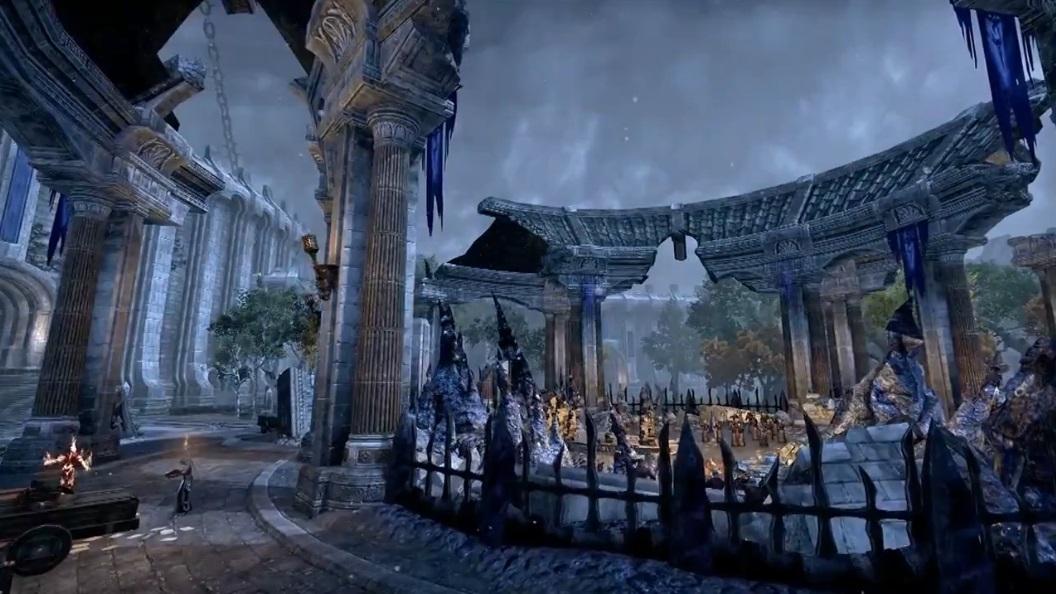 The Elder Scrolls Online: Tamriel Unlimited - Имперский Город демонстрация районов