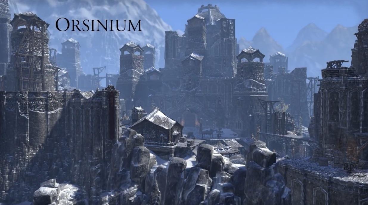 Создавая The Elder Scrolls Online: Орсиниум видео