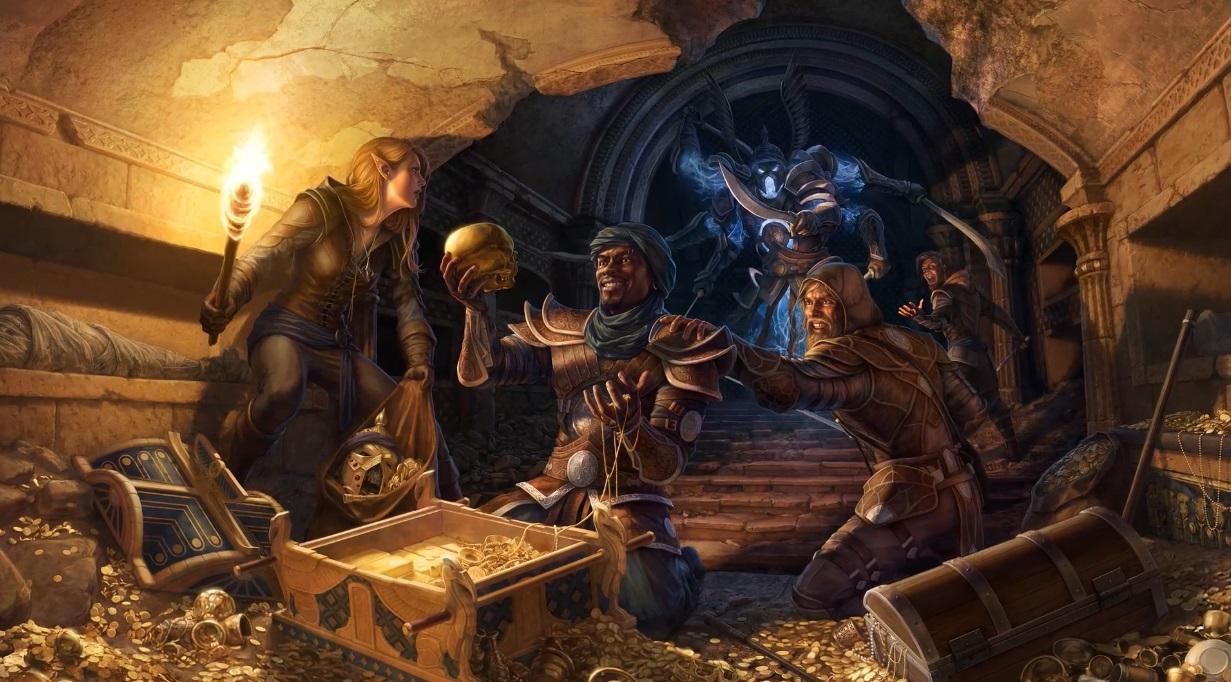The Elder Scrolls Online - Гильдия Воров вступление видео