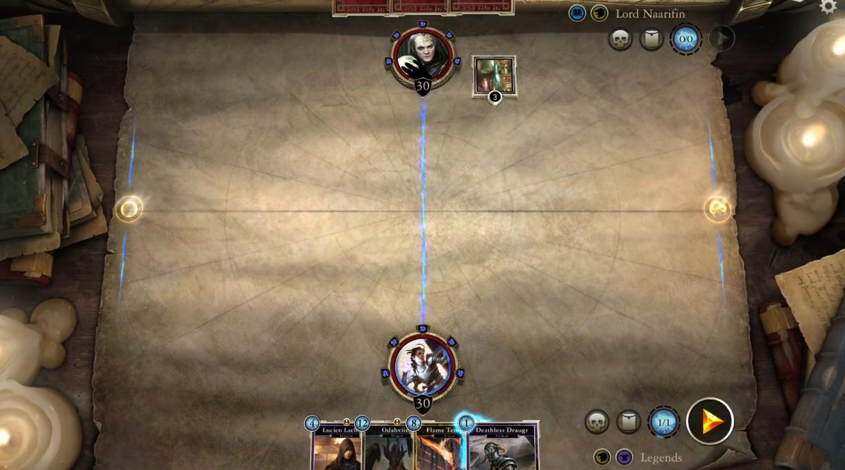 The Elder Scrolls: Legends геймплей видео