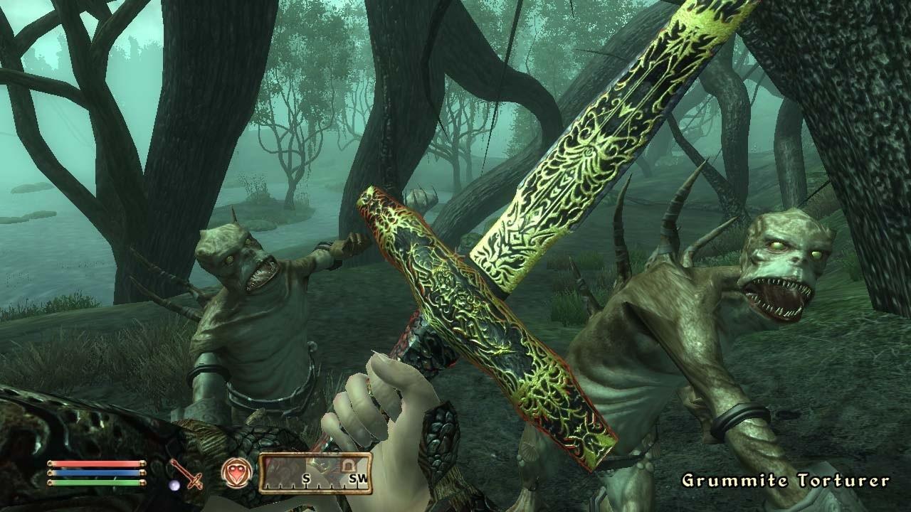 The elder scrolls 4 shivering isles gameplay