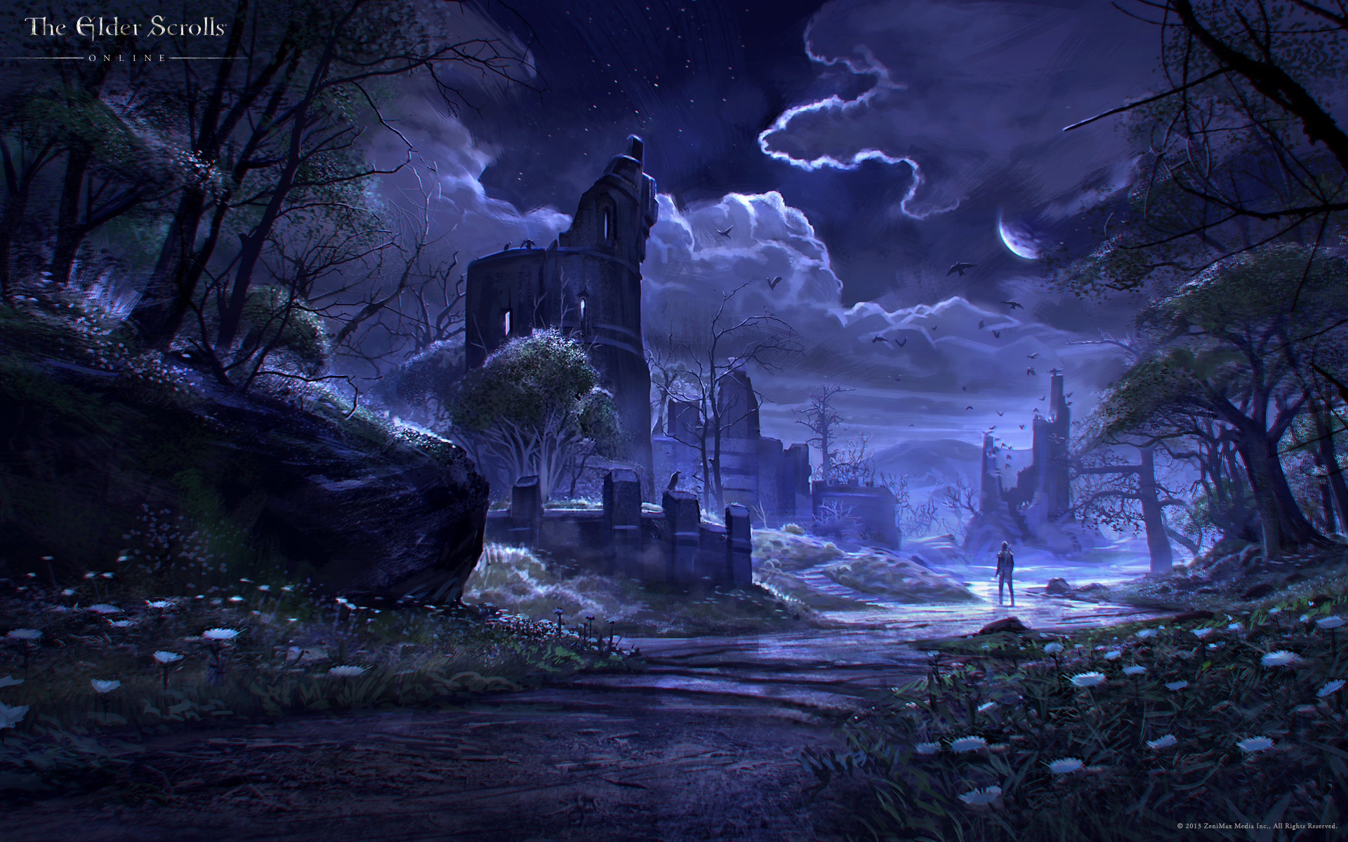 Wallpaper The Elder Scrolls Online: Crow's Wood