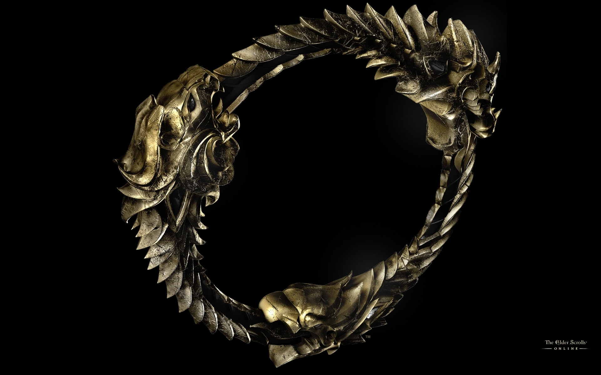 Wallpaper The Elder Scrolls Online: 3D Ouroboros