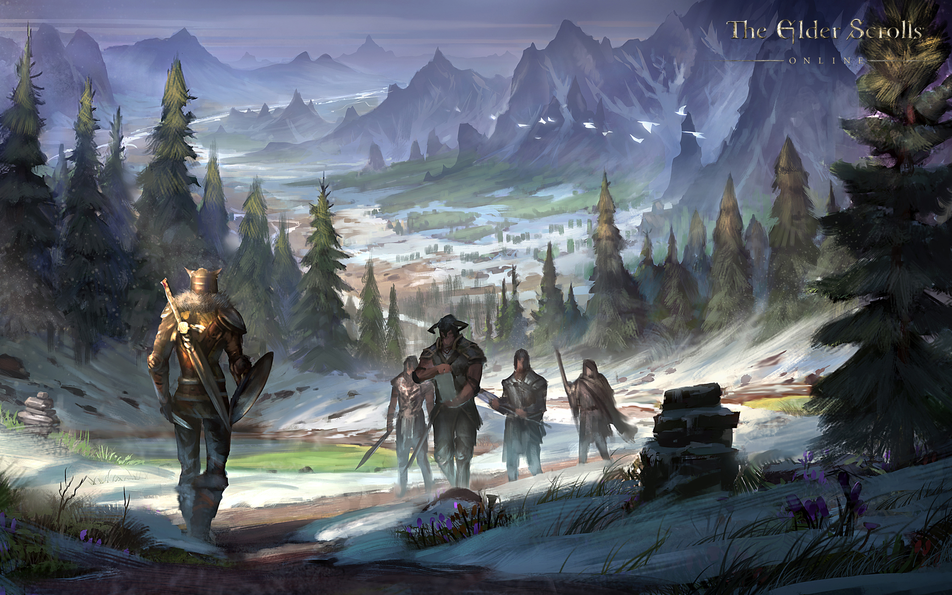 Wallpaper The Elder Scrolls Online: Eastmarch