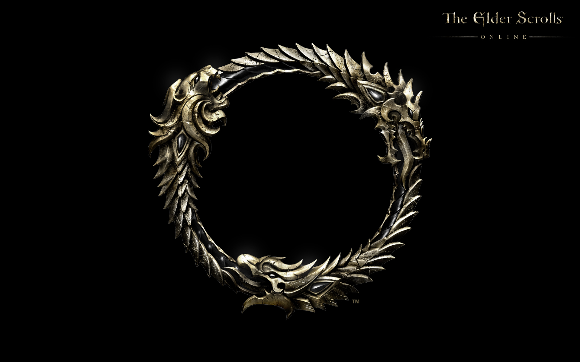 Wallpaper The Elder Scrolls Online: Ouroboros