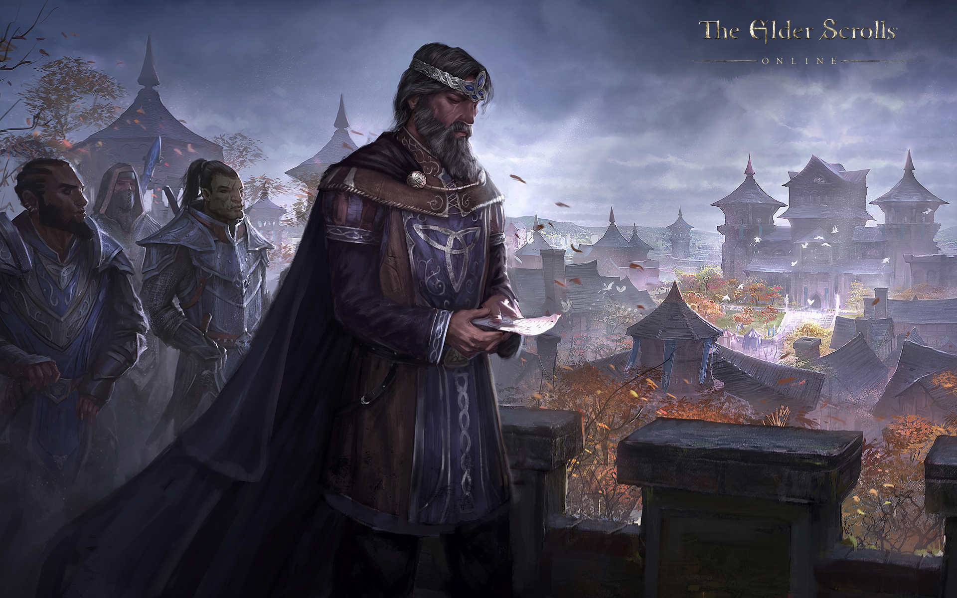 Wallpaper The Elder Scrolls Online: King Emeric