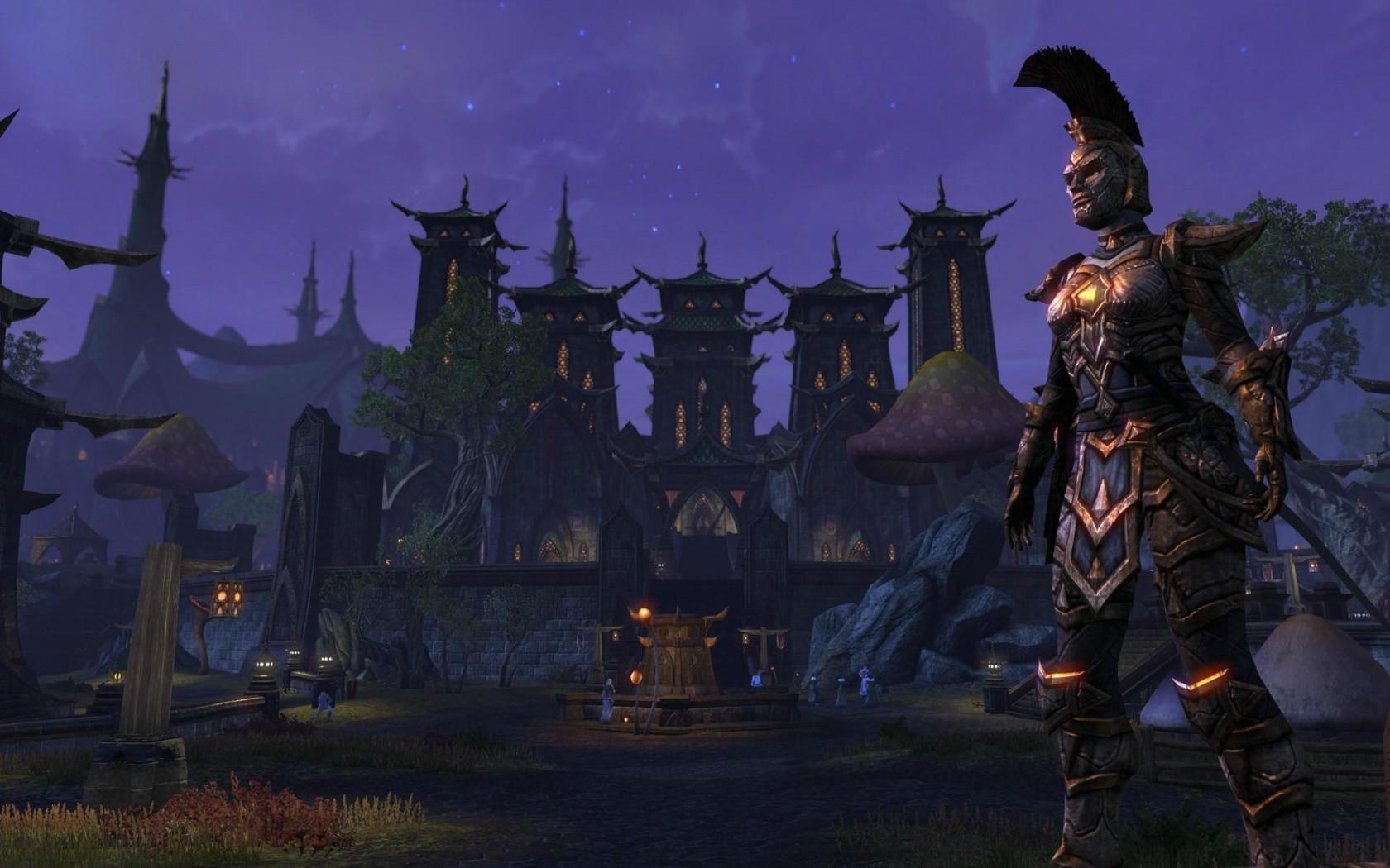 Wallpaper The Elder Scrolls Online: Warder