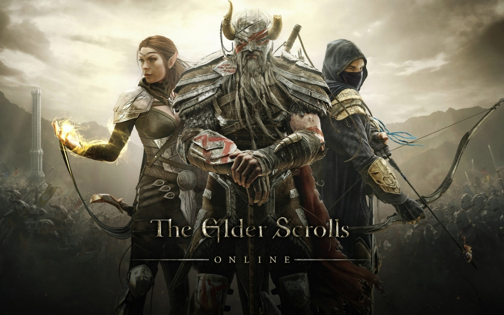 Wallpaper The Elder Scrolls Online: Warriors