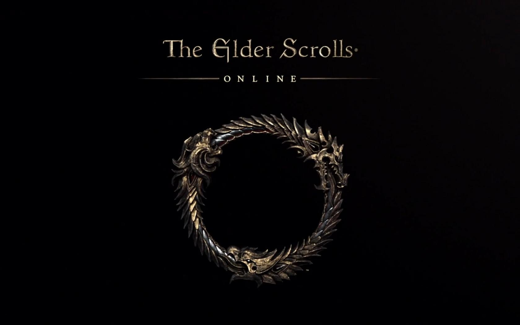 Wallpaper The Elder Scrolls Online: Logo