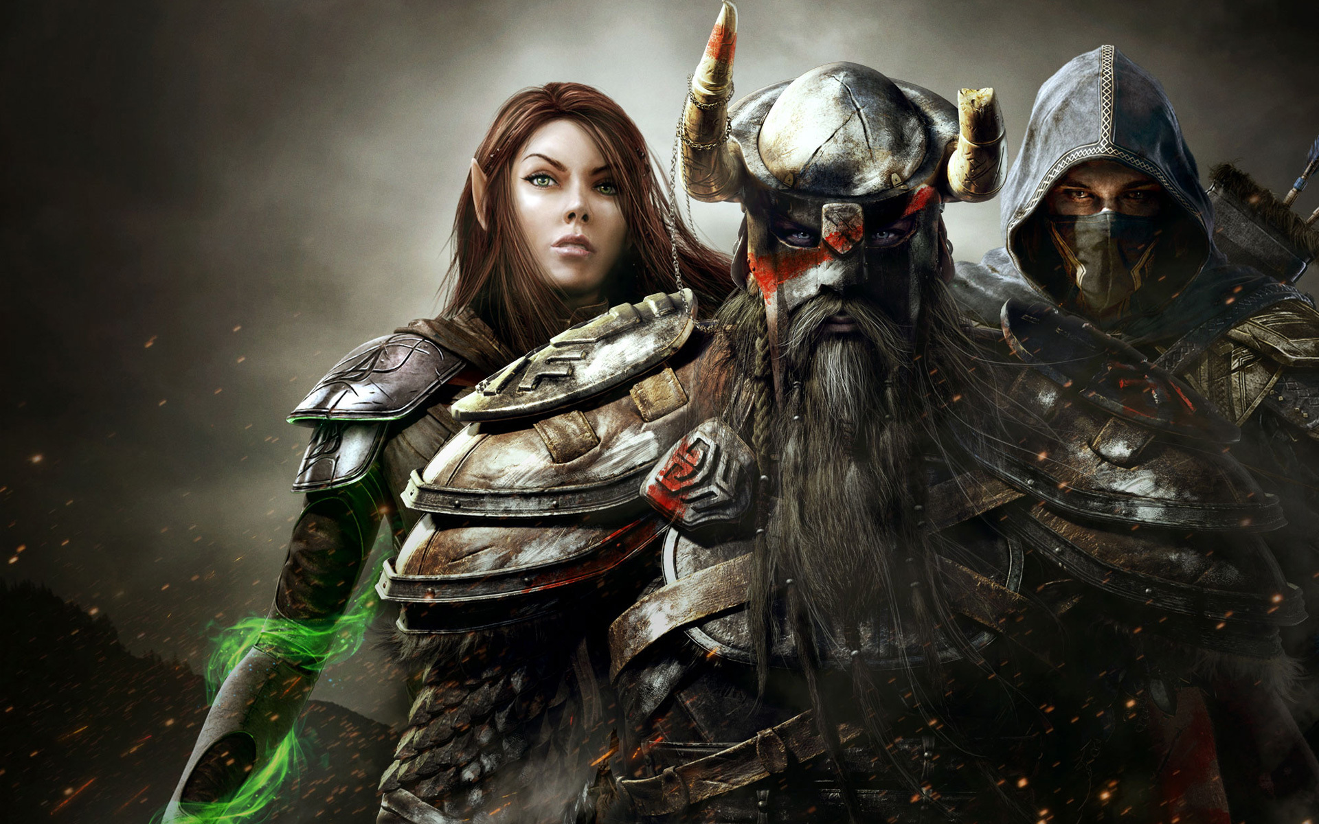 Wallpaper The Elder Scrolls Online: Group