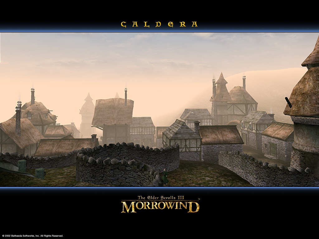 "Wallpaper The Elder Scrolls III: Morrowind ""Caldera"""