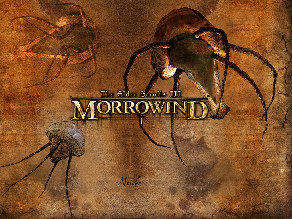 "Wallpaper The Elder Scrolls III: Morrowind ""Netch"""