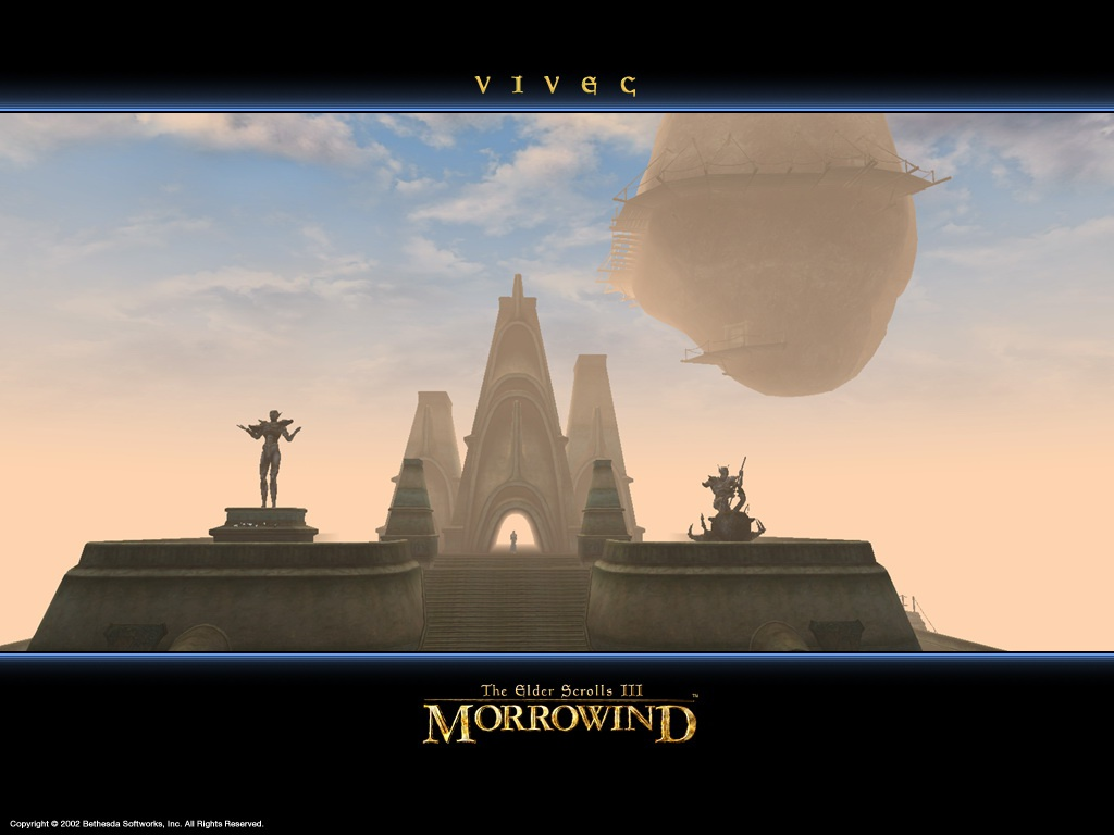 "Wallpaper The Elder Scrolls III: Morrowind ""Vivec"""