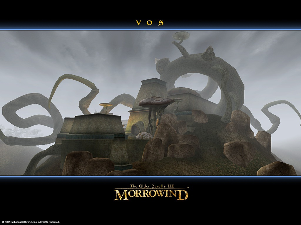 "Wallpaper The Elder Scrolls III: Morrowind ""Vos"""