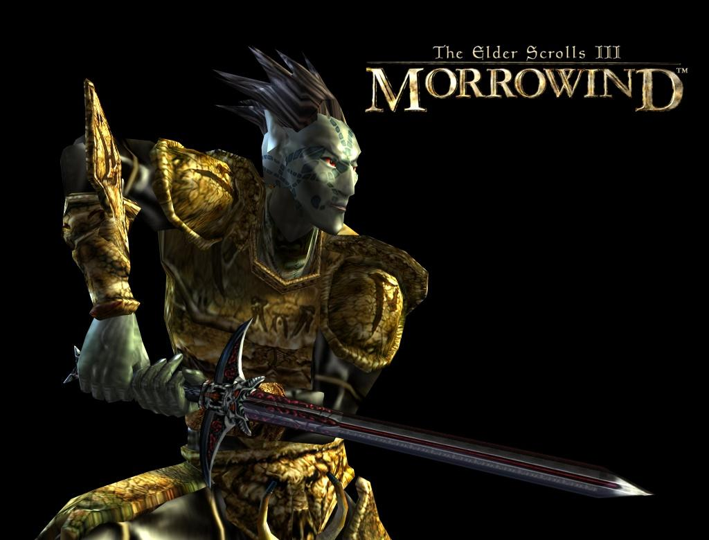 "Wallpaper The Elder Scrolls III: Morrowind ""Warrior"""