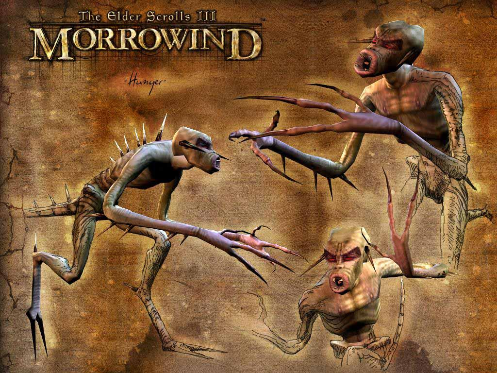 "Wallpaper The Elder Scrolls III: Morrowind ""Hunger"""