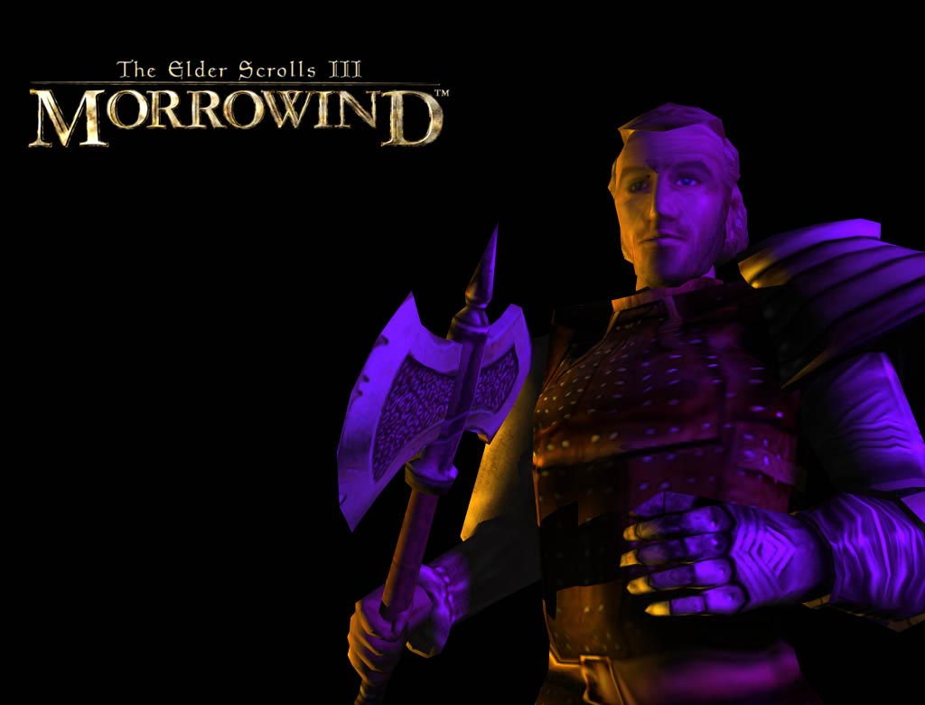 "Wallpaper The Elder Scrolls III: Morrowind ""Woodcutter"""