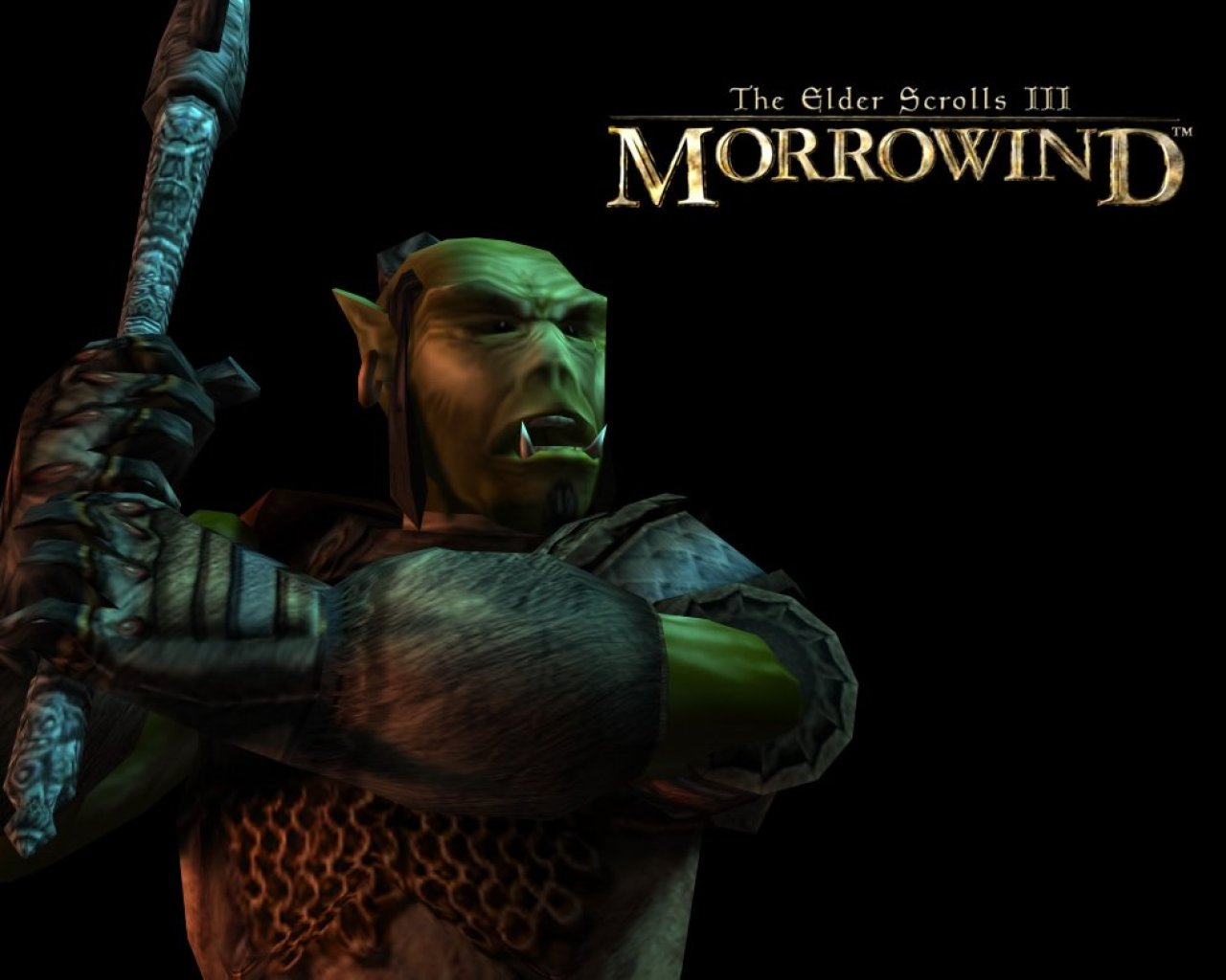 "Wallpaper The Elder Scrolls III: Morrowind ""Orsimer"""