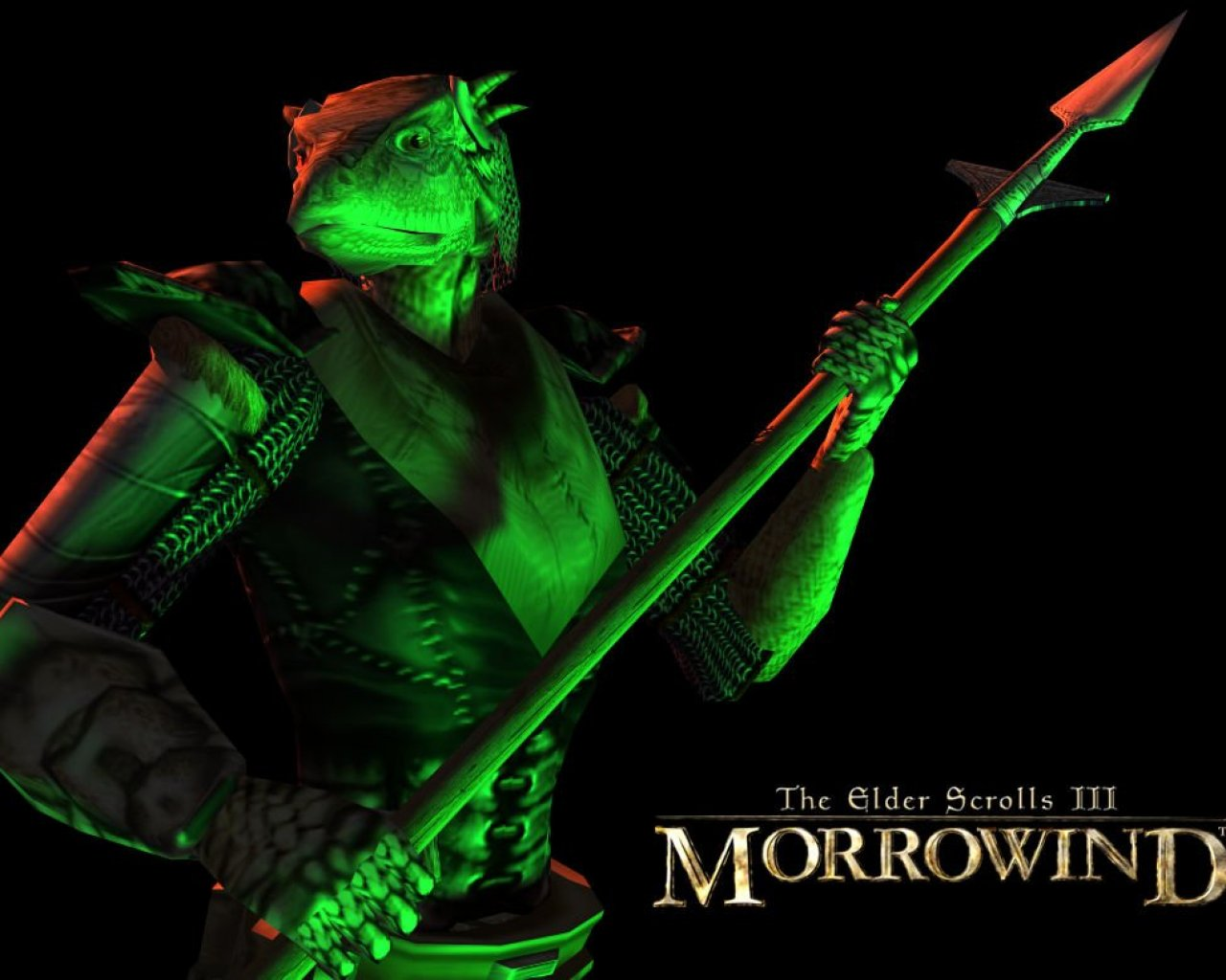 "Wallpaper The Elder Scrolls III: Morrowind ""Argonian"""