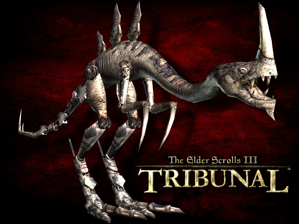 "Wallpaper The Elder Scrolls III: Tribunal ""Enemy"""
