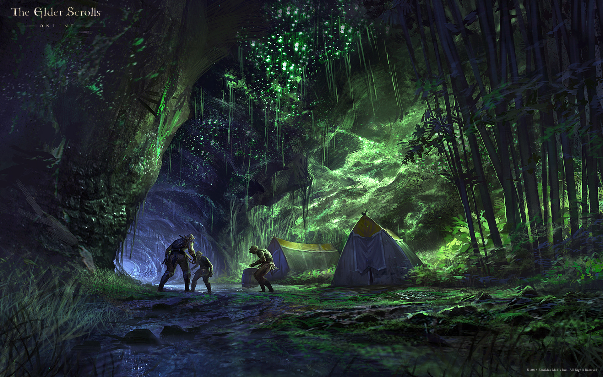 Wallpaper The Elder Scrolls Online: Toothmaul Gully