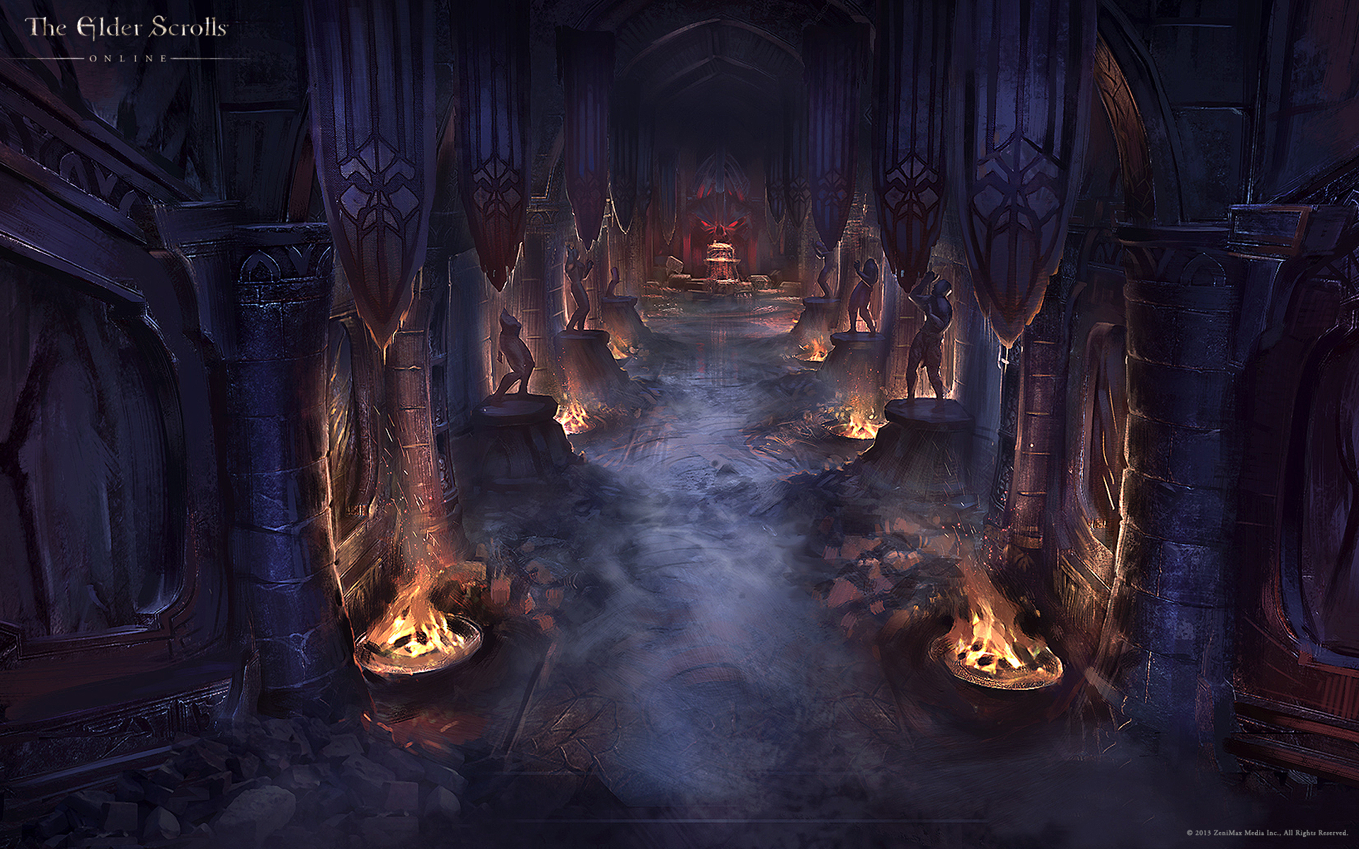 Wallpaper The Elder Scrolls Online: Vaults of Madness