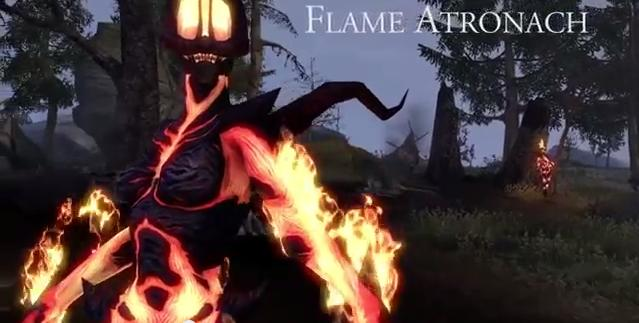 The Elder Scrolls Online The Flame Atronach (Video)