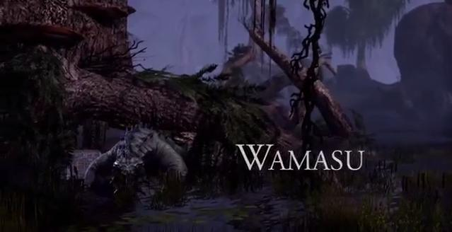 The Elder Scrolls Online The Wamasu (Video)