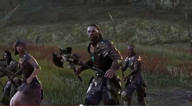 The Elder Scrolls Online War in Cyrodiil (video)