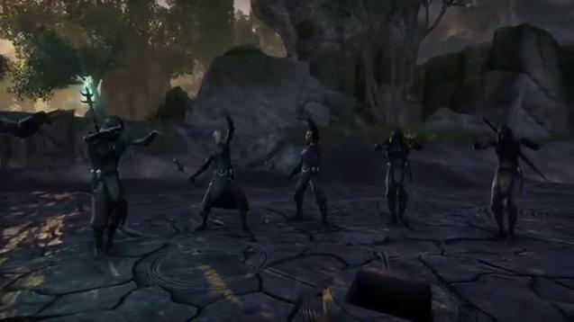 Creating The Elder Scrolls Online Dark Anchors