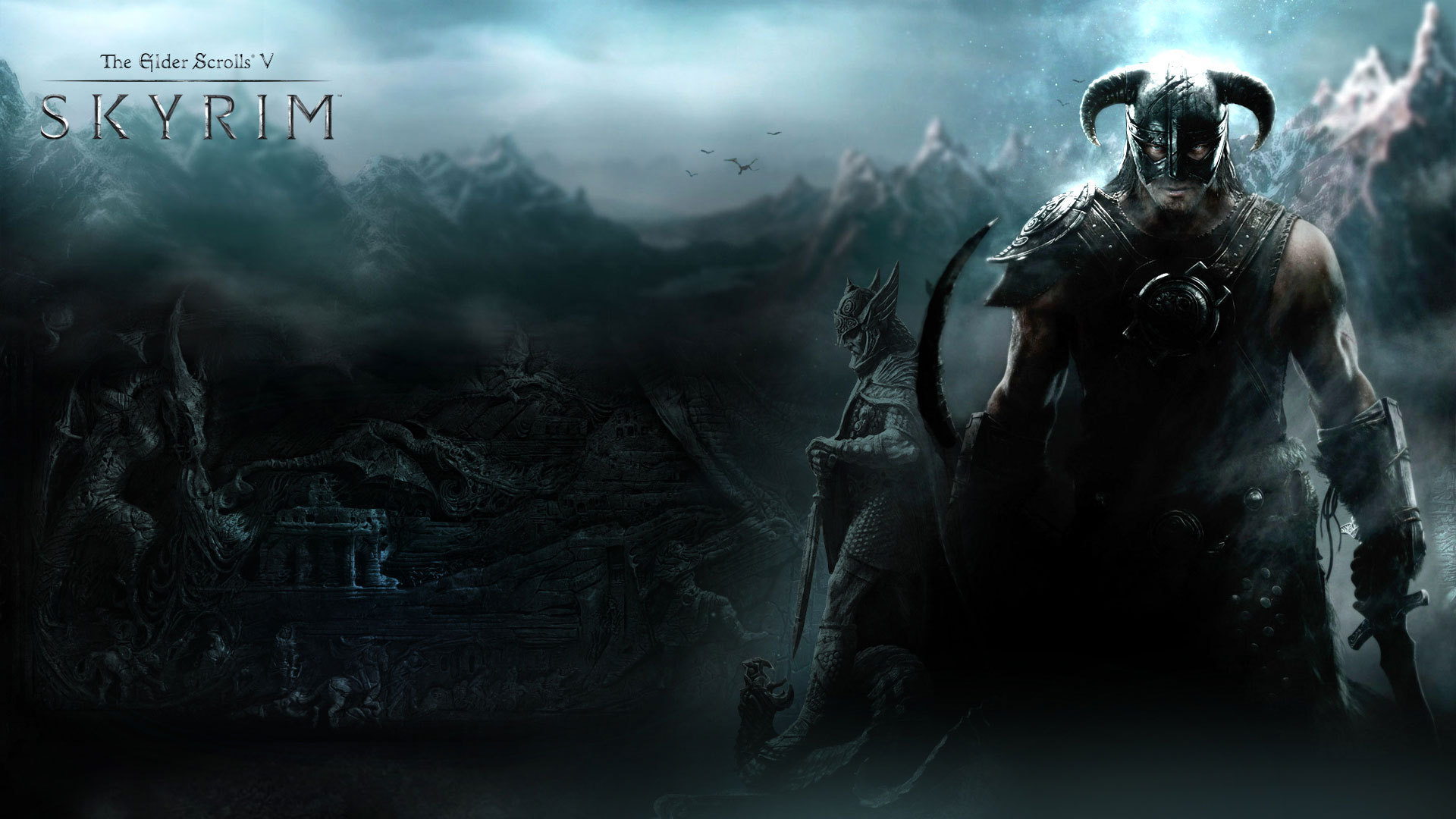 Wallpaper The Elder Scrolls V: Skyrim Highlander