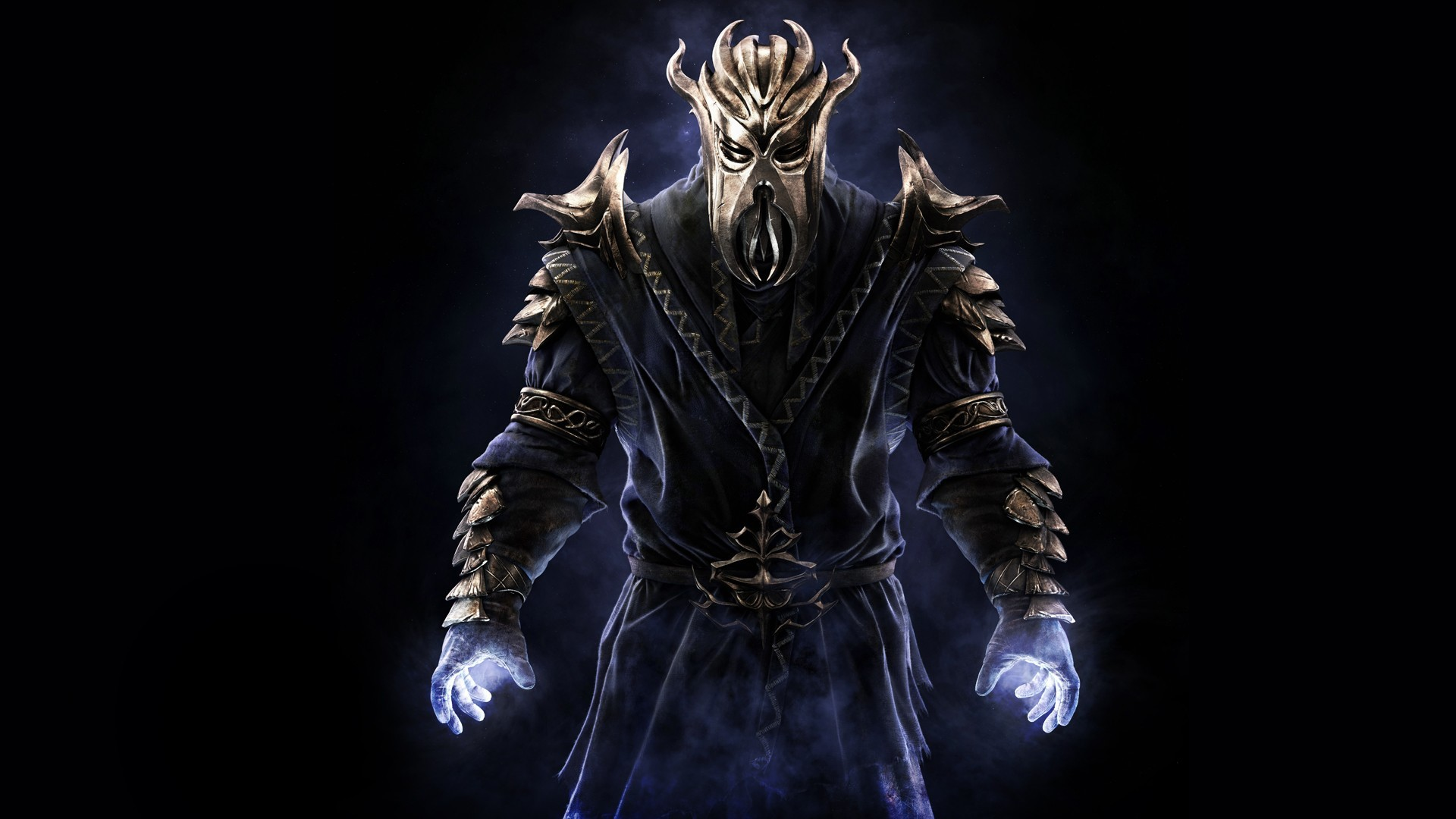 Wallpaper The Elder Scrolls V: Skyrim warder