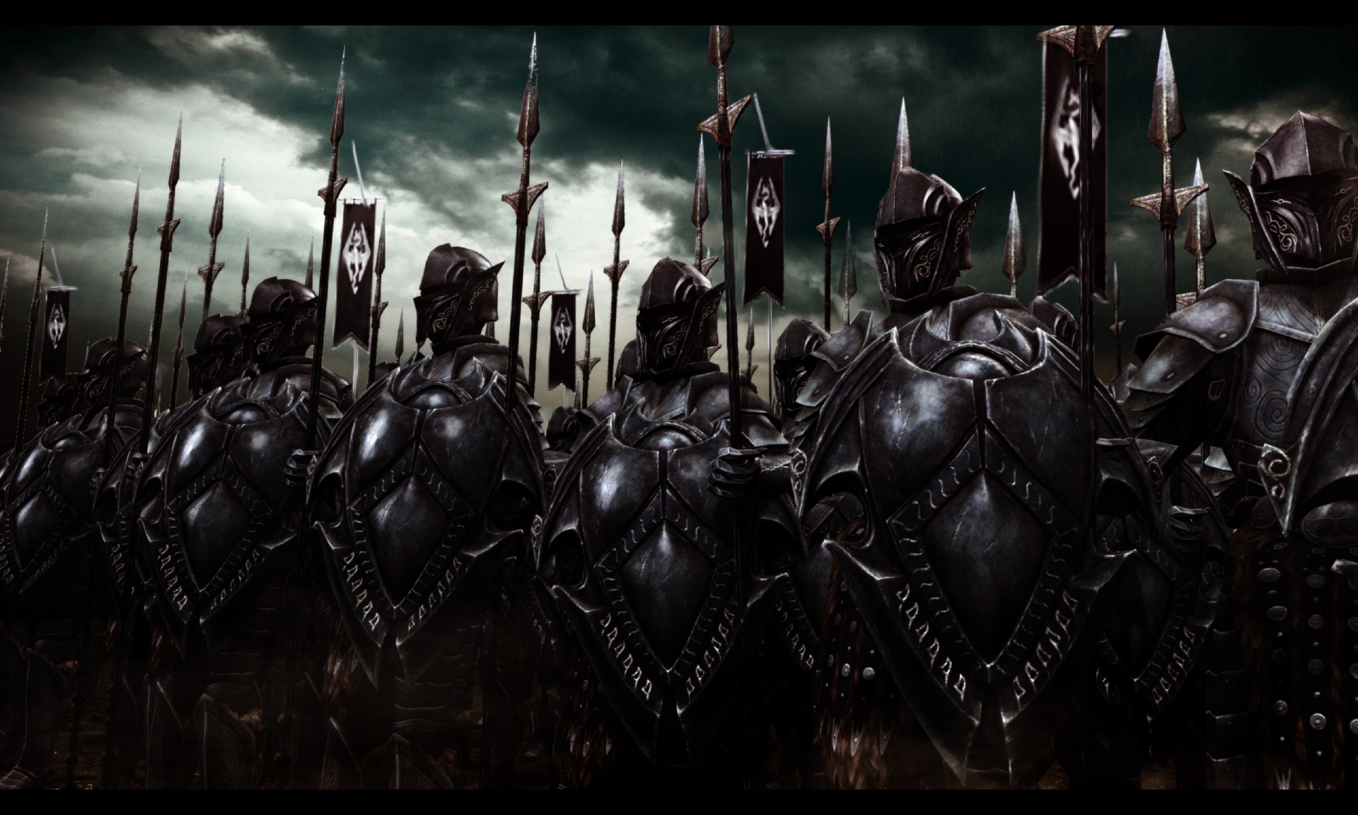 Wallpaper The Elder Scrolls V: Skyrim Army