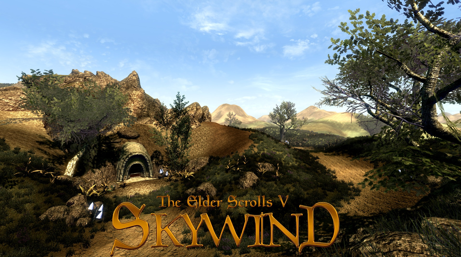 Wallpaper The Elder Scrolls V: Skywind